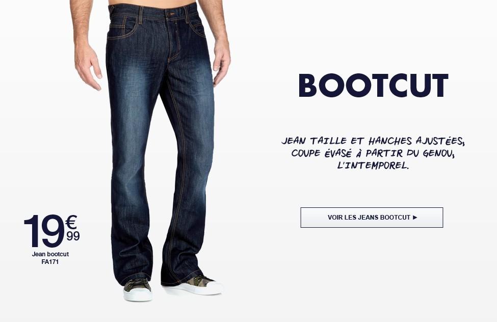 jeans bootcut kiabi. Black Bedroom Furniture Sets. Home Design Ideas