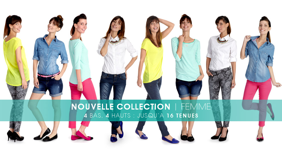 Nouvelle collection vêtements femme, mode femme | Kiabi