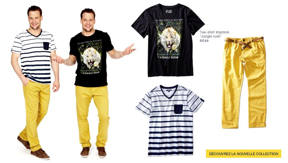meilleure vente Promotion de ventes styles frais Nouvelle collection vêtement homme, mode homme | Kiabi