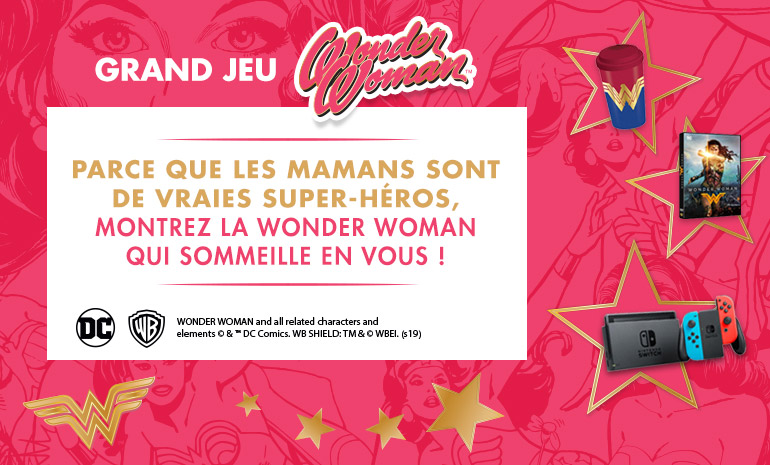 Grand jeu : Warner x Wonder Woman